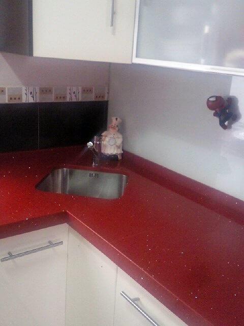 Materiales encimeras cocina best cocina con encimara de - Materiales para encimeras cocina ...