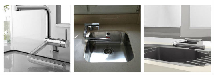 Casement window Sink Faucet