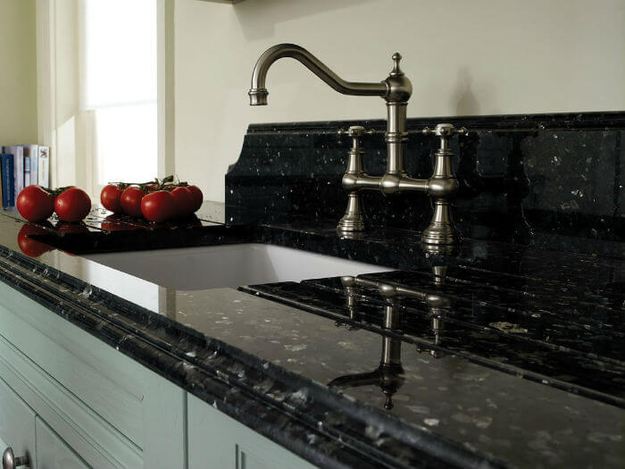 Classic kitchen faucet countertop Negra