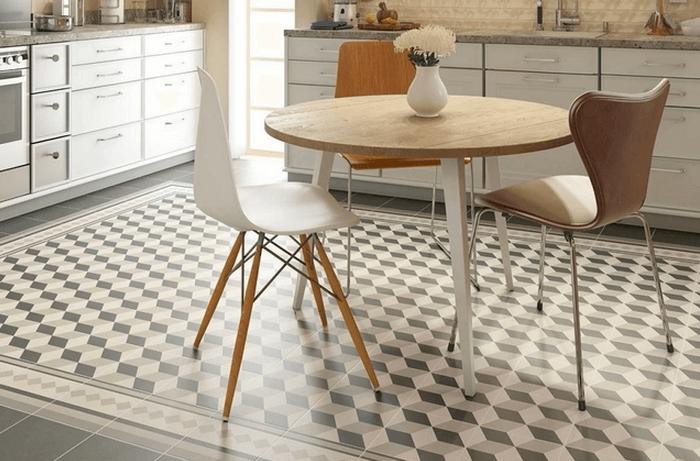 Azulejos y suelos hidr ulicos de imitaci n la gu a completa - Suelos de cocina modernos ...