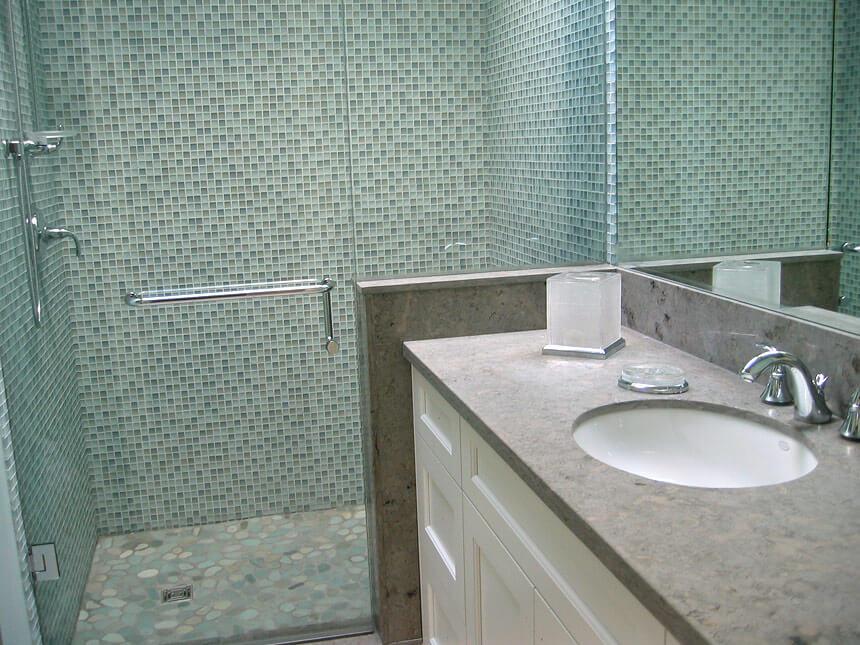 Duchas de obra la ducha a tu medida - Duchas con muro ...