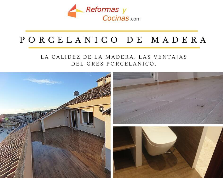 Porcelánico de Madera: La calidez de la madera. Las ventajas del Gres Porcelánico.