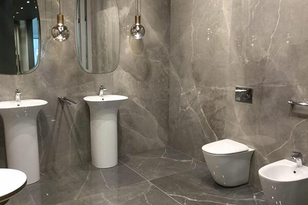 baños modernos porcelanico gran formato