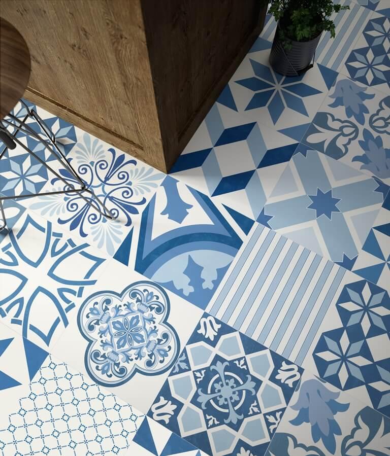 Azulejos y suelos hidr ulicos de imitaci n la gu a completa for Azulejos baratos