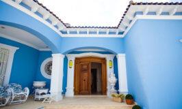 Pintura de fachada azul novedad 2021