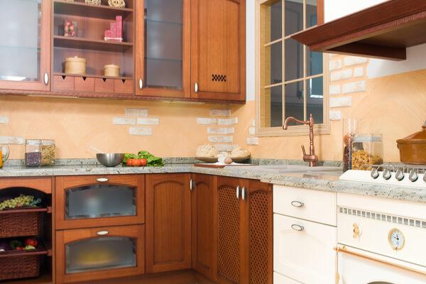 Cocina rústica azulejos para cocinas
