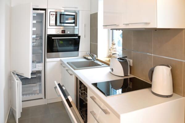 C mo aprovechar al m ximo las cocinas peque as reformas y Cocinas muy pequenas modernas