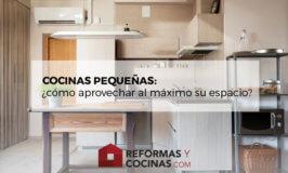 ¿Cómo aprovechar al máximo las cocinas pequeñas?