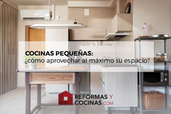 Como Aprovechar Al Maximo Las Cocinas Pequenas Reformas Y Cocinascom - Cocinas-modernas-con-barra-americana