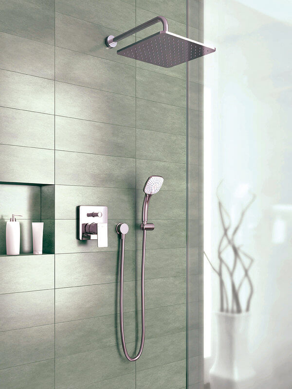 Columnas de ducha tipos caracter sticas y precios for Telefono ducha grohe