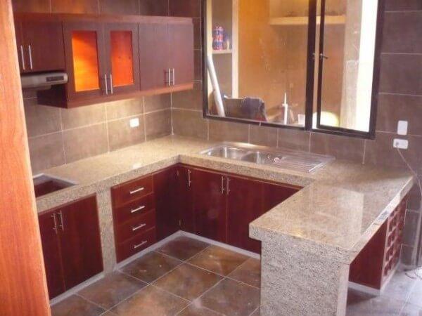 Encimeras de granito como elegir la encimera perfecta - Modelos de azulejos para cocina ...
