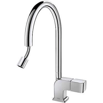 Grifo fregadero ducha extraible
