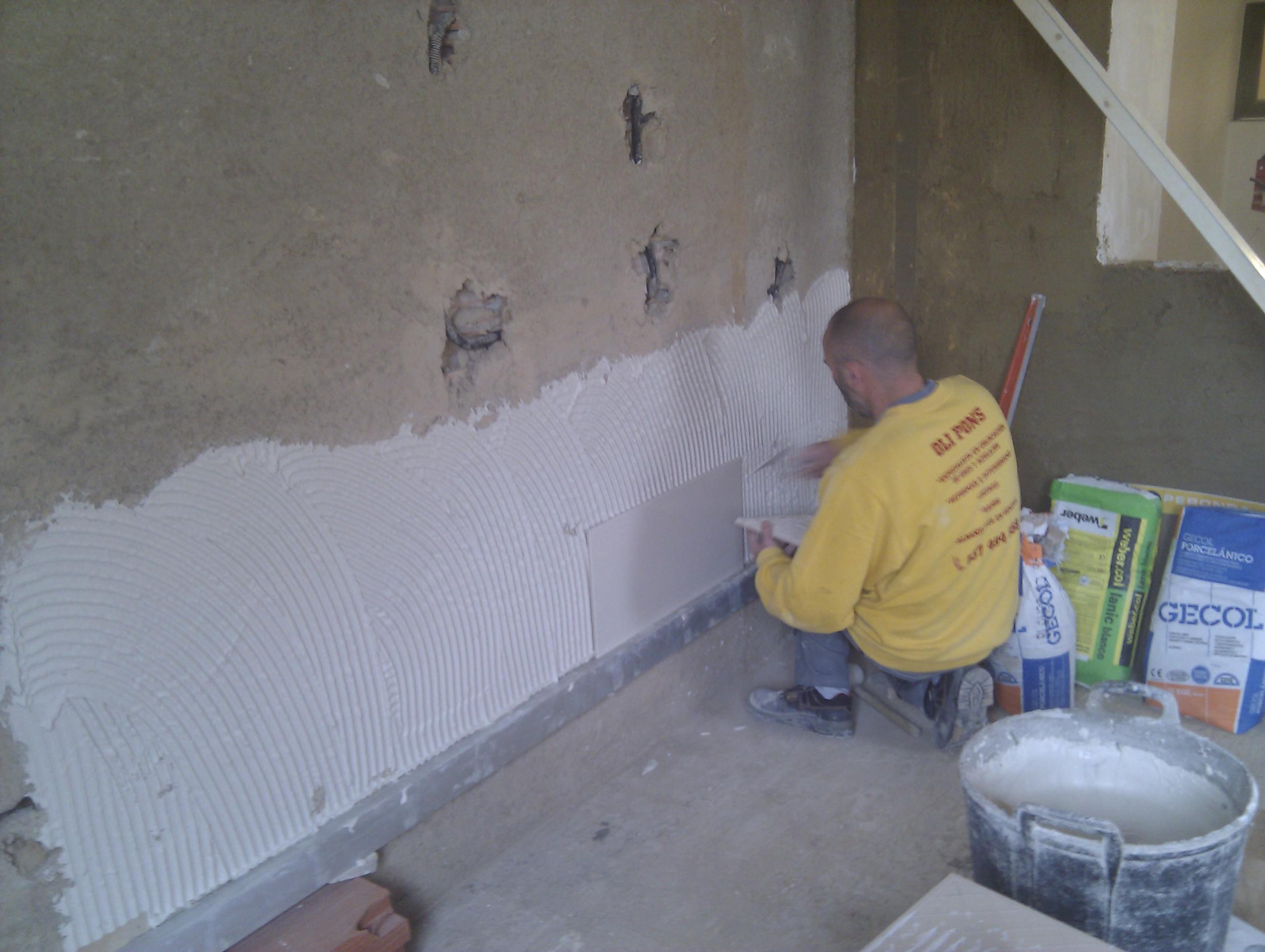 Azulejos cual es la mejor colocaci n para una obra o reforma for Nivelar suelo terraza sin obra