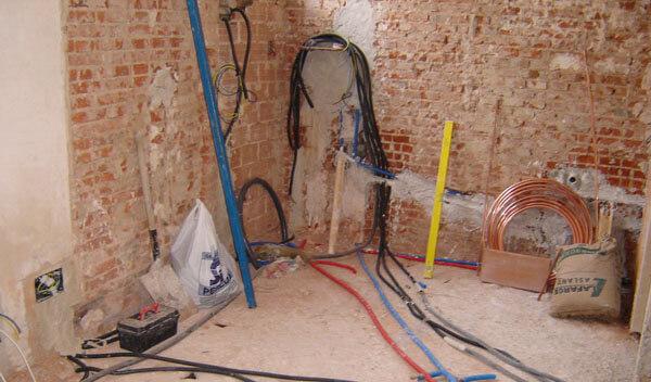 Instalacion completa de fontaneria en reforma precio