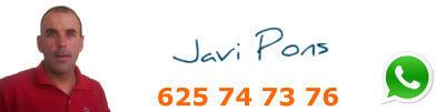 Javier Pons - Firma - Telefono - WhatsApp - mini
