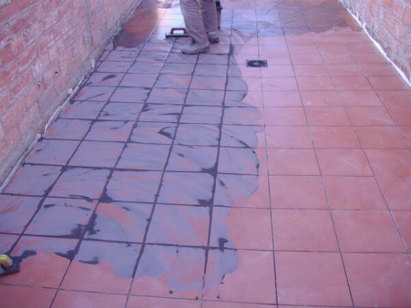 pavimento de barro cocido