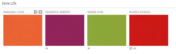 Serie Life - Colores - Silestone