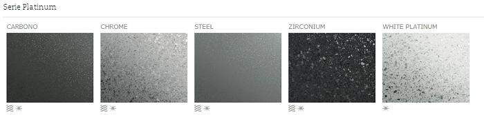 Serie Platinum - Colores - Silestone