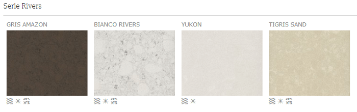 Serie Rivers - Colores - Silestone
