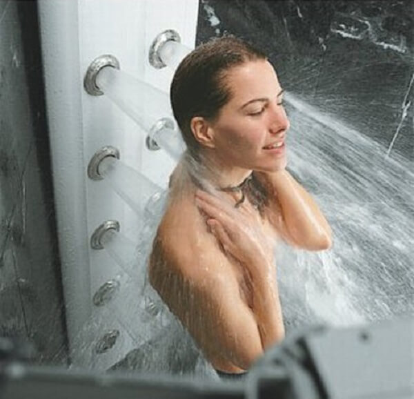Sistema ducha hidromasaje