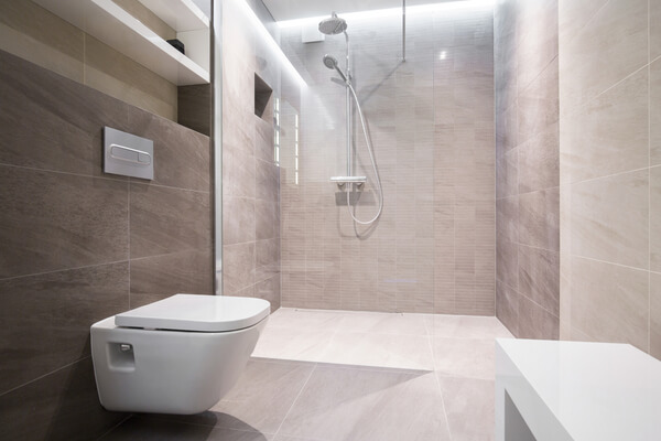 Azulejos de baño para suelos y pavimentos
