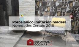 Novedades porcelanico imitacion madera – nuevos formatos, texturas y acabados en la feria de Cersaie, Bolonia 2018.