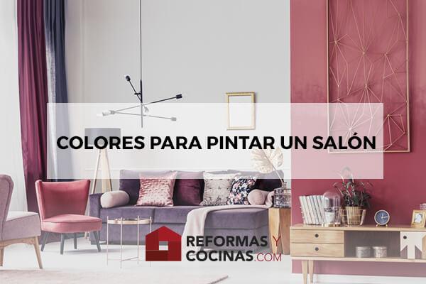 Colores para pintar un salón