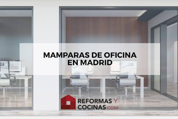 Reformar oficinas en Madrid con mamparas
