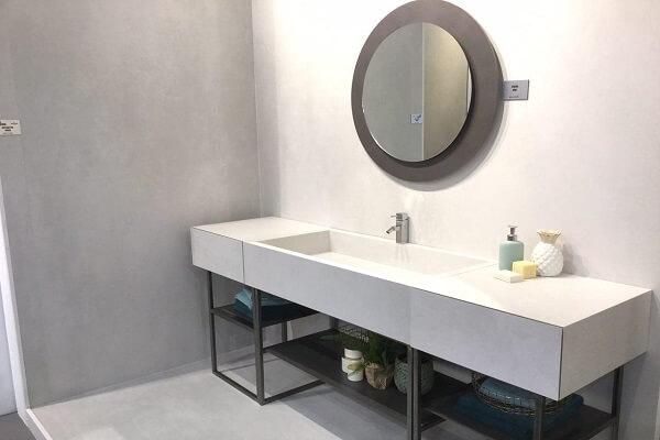 Porcelanico para muebles baño