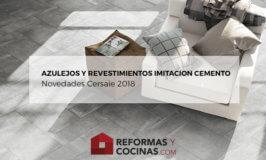 Azulejos imitacion cemento – Novedades Cersaie 2018
