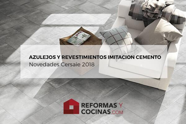 Novedades azulejos imitacion cemento