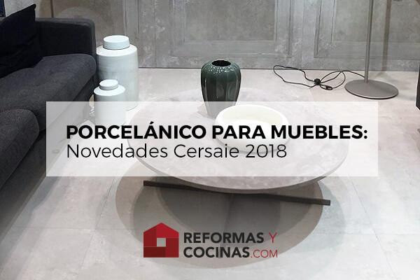 Mueble porcelánico salón.