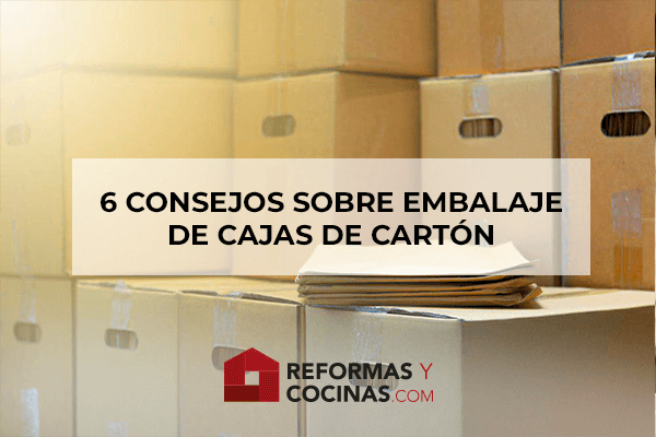 6 consejos sobre embalaje de cajas que debería saber