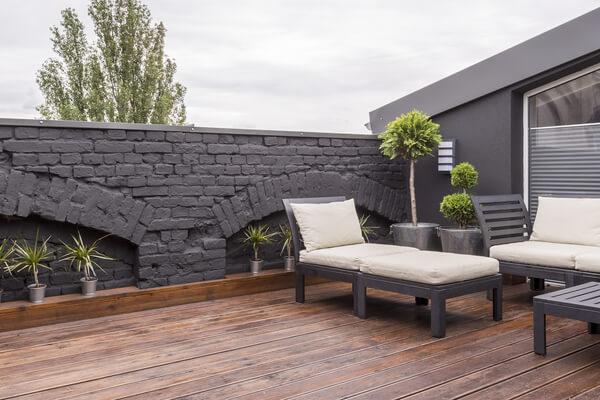 Suelo terraza madera