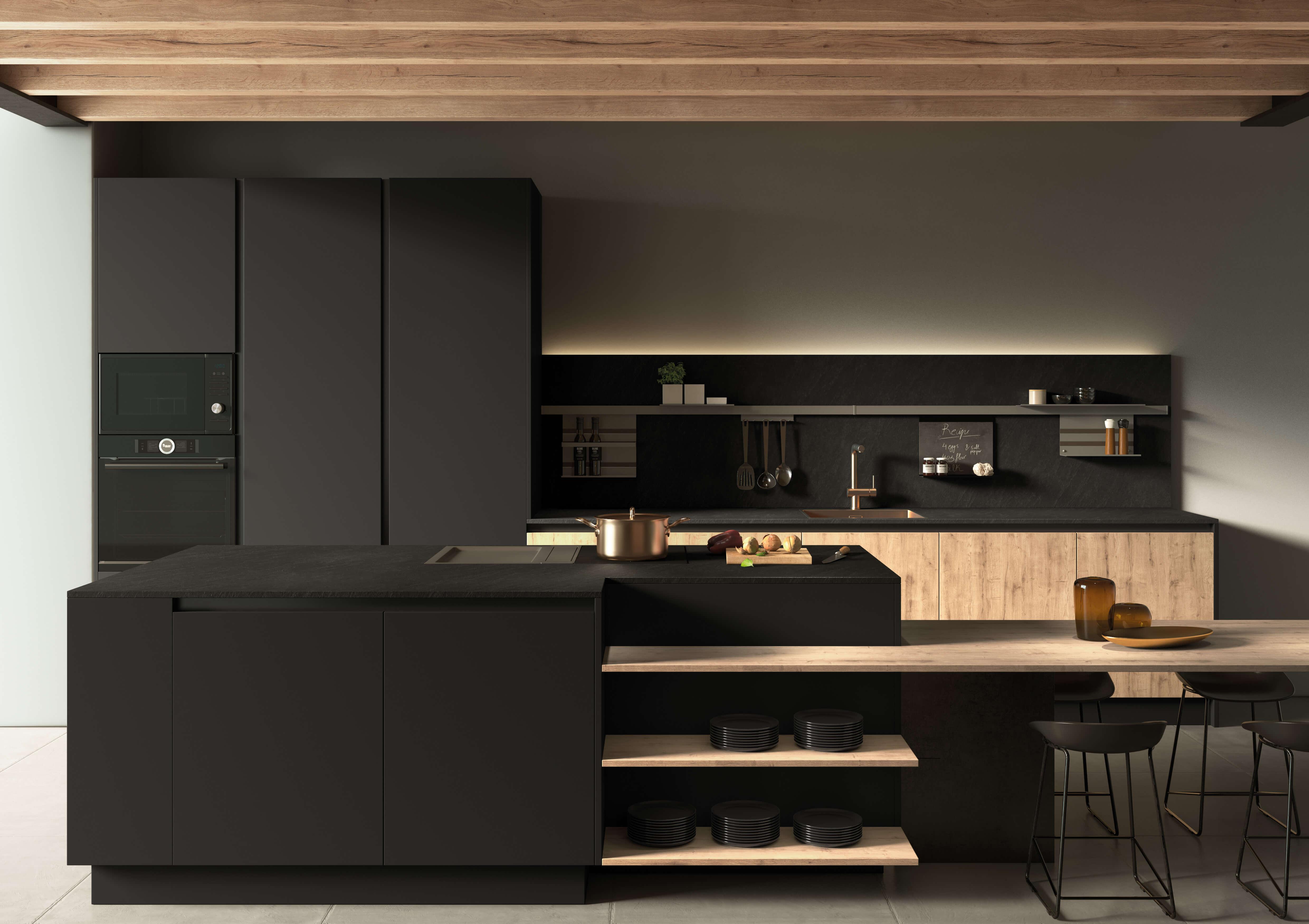 Lo último en diseño, materiales e innovaciones para cocinas ...