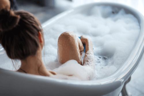 uso sostenible del baño